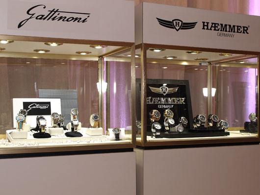 Gattinoni and Haemmer Couture 2013 Displays